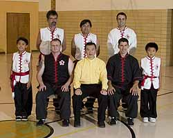 Grandmaster with Choi Li Fut Sifus and students